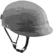 YAKKAY Milano Blue Denim Helmet: Small (53-55cm).