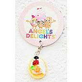 Children's Fruit Tart Clip on Charm