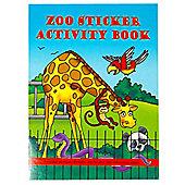 A6 Zoo Sticker Activity Book