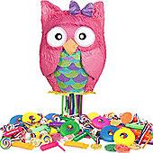 Owl Pull Piñata Kit