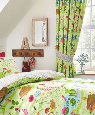 Bluebell Woods, Animals Curtains 72s