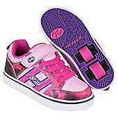Heelys Bolt Pink/Purple/Space Kids Heely Shoe - Pink