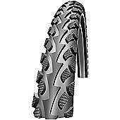 Schwalbe Land Cruiser Tyre: 26 x 1.75 Black Wired. HS 307, 47-559, Active Line, Kevlar Guard