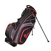 Palm Springs Golf Tour Premium Stand Bag Black/Red
