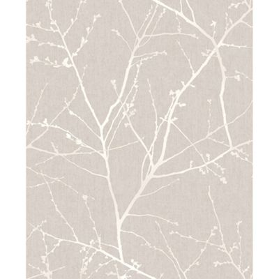 Superfresco Easy Innocence Paste The Wall Branch Mushroom Wallpaper