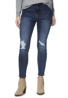 Tesco womens high waisted jeans