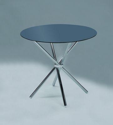 VERONA ROUND DINING TABLE-BLACK