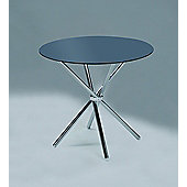 VERONA ROUND DINING TABLE-BLACK