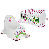 Peppa Pig Toilet Training Set