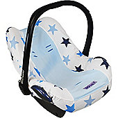 Dooky Infant Car Seat Cover 0+ BLUE STAR