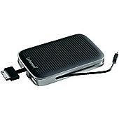 Intenso Mobypack 5200 5200mAh li-polymer Apple 30-pin/Micro USB/USB Black