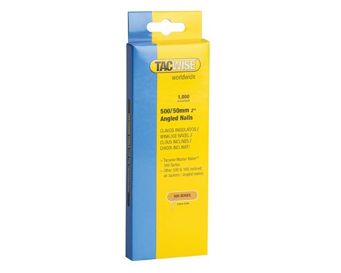 Tacwise 500 18 Gauge 50mm Angled Nails Pack 1000