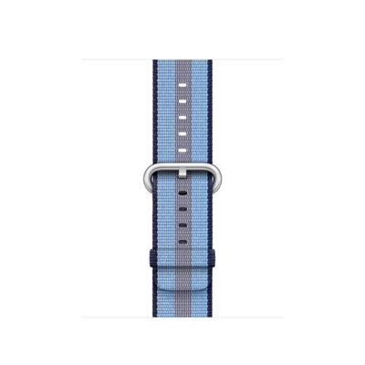 Apple MQVJ2ZM/A Band Blue Nylon 38mm Midnight Stripe Woven