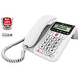 BT Decor 2600 Corded Hearing Aid Compatible Home Phone - White