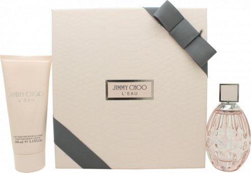 Jimmy Choo L'Eau Gift Set 60ml EDT + 100ml Body Lotion For Women