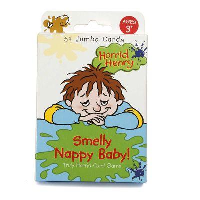 Horrid Henry Smelly Nappy Baby 54 Jumbo Cards 3yrs+ Paul Lamond