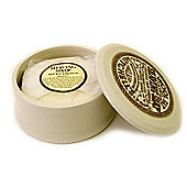 Mitchell's Wool Fat Shaving Soap and Ceramic Bowl 120g
