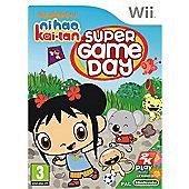Ni Hao Kai-Lan - Super Game Day - NintendoWii