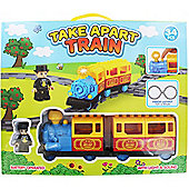 34 Piece Take Apart Train Set Battery Operated With Light & Sound Toys & Games