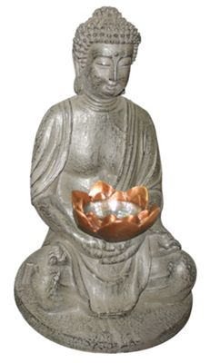 Home Essence One Light Buddha Solar Light