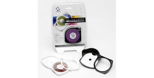 Capdase SHCUMDBLACK2 Deluxe UMD Protective Case for Sony PSP (2 per pack)