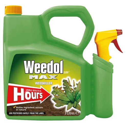 Weedol Max Super fast weedkiller 3L