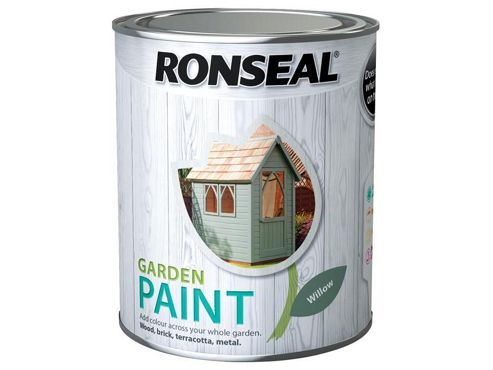 Ronseal RSLGPW25L 2.5 Litre Garden Paint - Willow