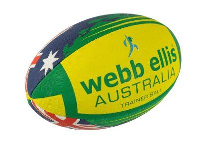 Webb Ellis Australia Flag ball size 5