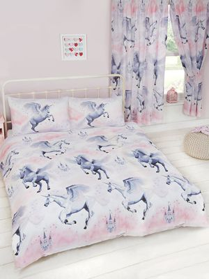 Stardust Unicorn Double Duvet Cover Set