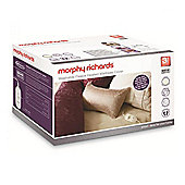Morphy Richards 620002 Double Washable, Dual Control, Heated Fleece Mattress Cover