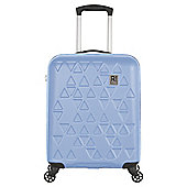 Revelation by Antler Echo 4 Wheel Blue Cabin Suitcase