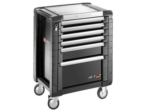Facom Jet.6GM3 Roller Cabinet 6 Drawer Black