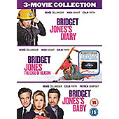 Bridget Jone's - 3 Film DVD