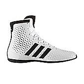 adidas KO Legend 16.1 Boxing Trainer Shoe Boot White/Black - White