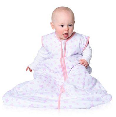Snoozebag Baby Sleeping Bag Butterflies & Hearts (1.0 tog, 0-6 months)