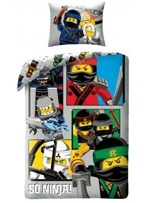 Lego Ninjago So Ninja Single Cotton Duvet Cover Set