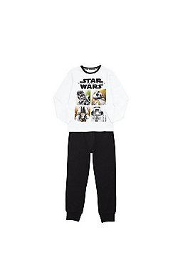 Star Wars: The Last Jedi Character Grid Pyjamas - Multi
