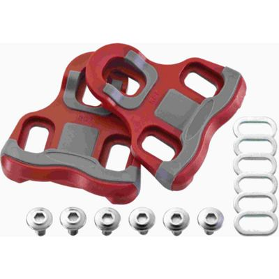 Acor Look Keo Compatible Floating Pedal Cleats: 6 Degree.