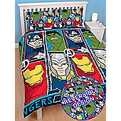 Marvel Avengers Tech Double Duvet Cover Set