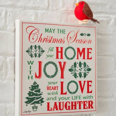 Christmas Wall Canvas - Christmas Decoration