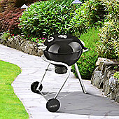 Outback Charcoal 57cm Kettle Barbecue - Black