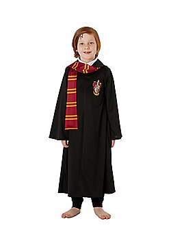 Warner Bros. Harry Potter Gryffindor Robe Fancy Dress Costume - Black