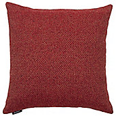 McAlister Red Herringbone Cushion Cover - 43x43cm