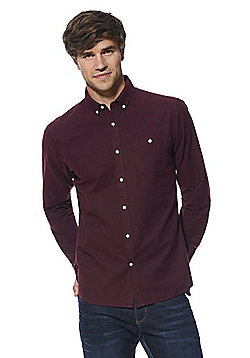 F&F Oxford Shirt - Wine