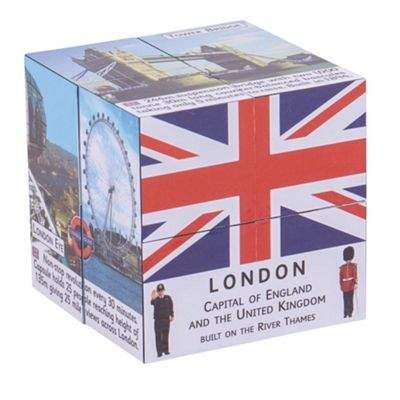 ZooBooKoo London Facts and Attractions Cubebook - Fold-Out Cube