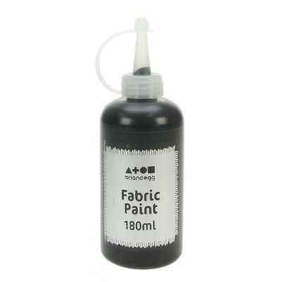 Fabric Paint Black 180 ml