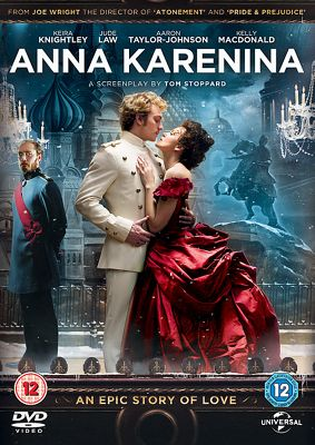 Anna Karenina (2012) UK & NI (DVD/UV/DC) 1 disc DVD