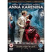 Anna Karenina (2012) UK & NI (DVD/UV/DC) 1 disc DVD