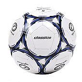 Optimum Classico Football Soccer Ball White/ Blue - 3