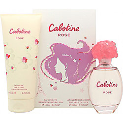Gres Parfums Cabotine Rose Gift Set 100ml EDT + 200ml Body Lotion For Women